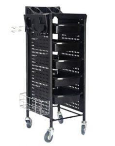 Giantex 40_ Beauty Salon Spa Styling Station Trolley Equipment Rolli