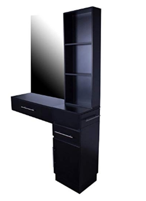 Icarus_Irvine_ Pre-Assembled Single Drawer Wall Mount Beauty Salon