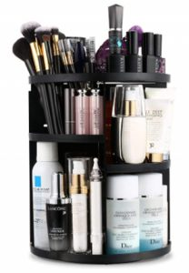 Jerrybox Makeup Organizer, Rotating Vanity Organizer and Storage Box