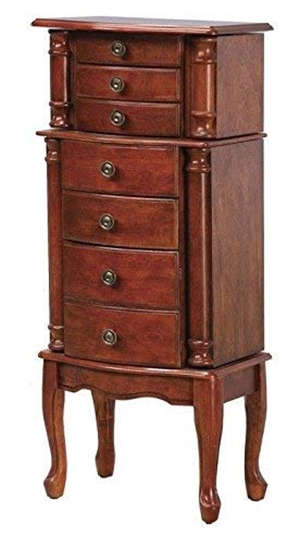 Powell_Classic Cherry_ Jewelry Armoire_ Kitchen & Dining