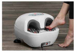 Sharper Image Acupressure Heated Foot Massager_ Health & Personal Ca