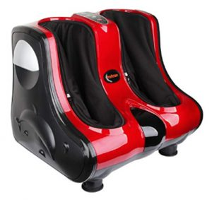 Shiatsu Kneading, Rolling & Heating Foot & Calf Massager Personal He